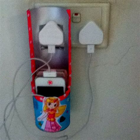 pringles can crafts for iphone charging station via pringles can craft ideas