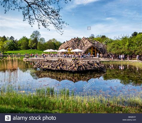 Britzer Garten Restaurant Am See by Dine Outdoor Cafe In Stock Photos Dine