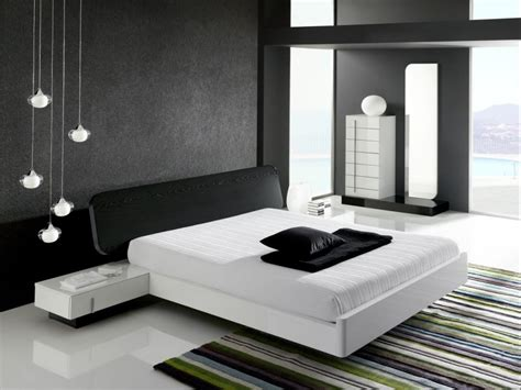 Bedroom Designs Black White And Black And White Bedroom Interior Design Ideas