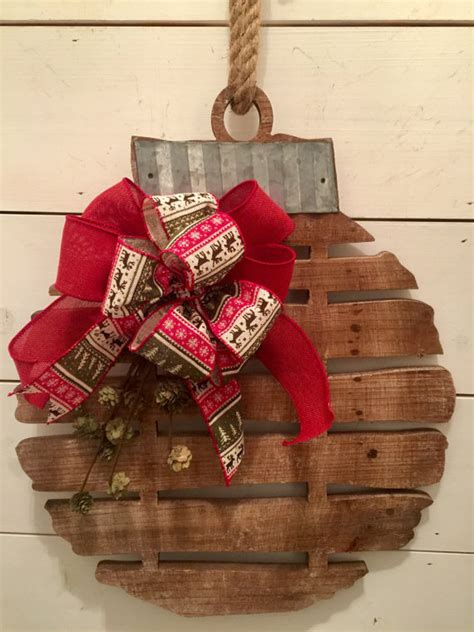 items similar to rustic wood bell christmas wall decor