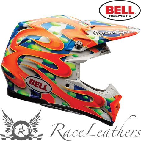 orange motocross helmet bell moto 9 flex mcgrath replica orange motocross enduro