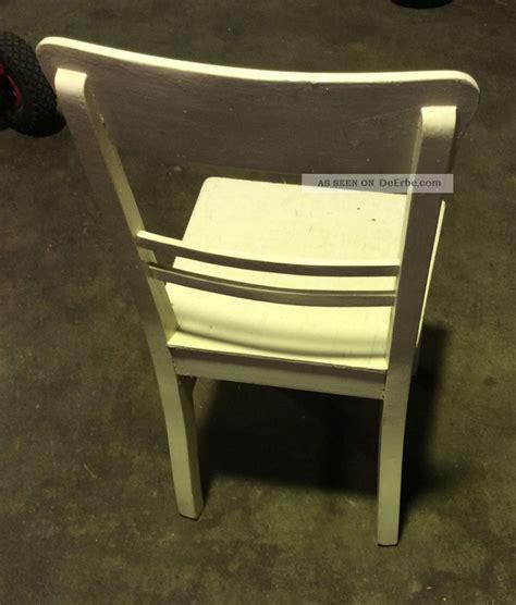 eckbank modern - Stuhl Vintage Weiß