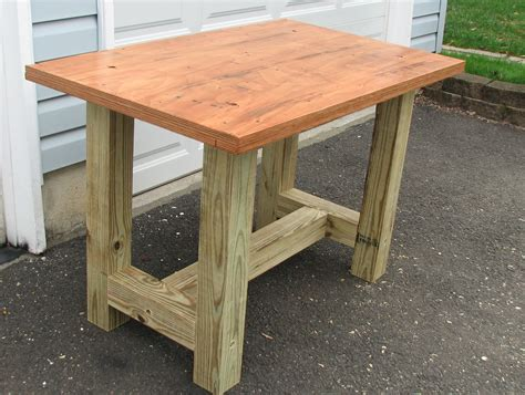 a work table build a beefy work table for 50 all