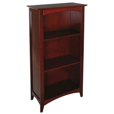 avalon 3 shelf bookcase cherry by kidkraft
