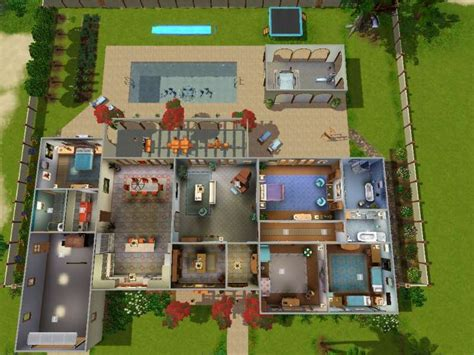 sims 3 5 bedroom house sims 3 5 bedroom house plans