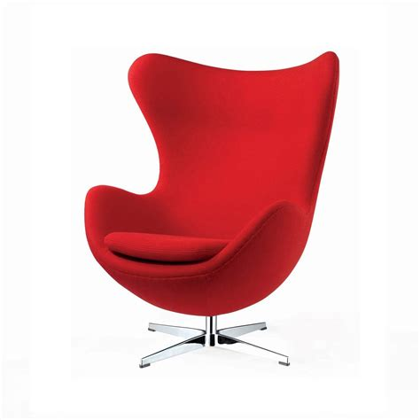 poltrona egg chair a jacobsen novecento designperte it