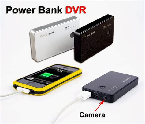 power bank kamera 720p motion activated dvr power bank portable