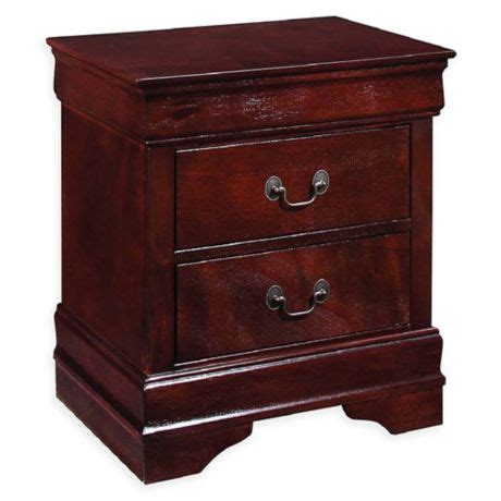 Bed Bath And Beyond Nightstand by Hazelton 2 Drawer Nightstand Bed Bath Beyond