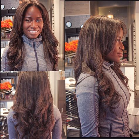 sew ins from chicago 12 30inch brazilian loose body wave extensions sew in