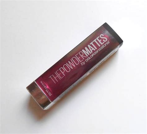 Maybelline The Powder Mattes Lipstick maybelline the powder mattes by colorsensational lipstick