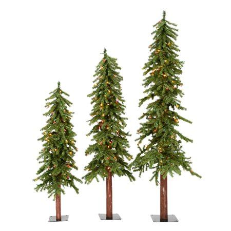 artificial christmas tree 3 pcs sets vickerman artificial tree 4 5 6 alpine set of 3 500 multi color