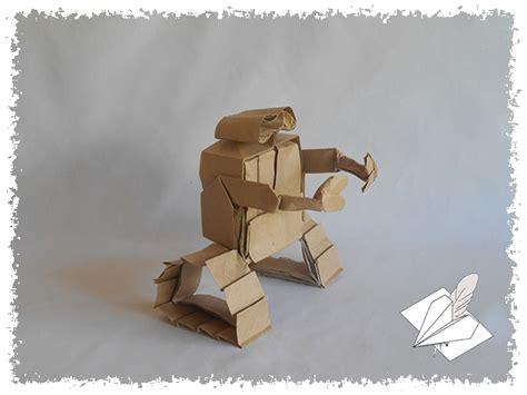 Wall E Origami - wall e les origamis de mathieu