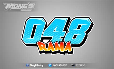 jasa desain jersey balap mong s racing desain nomor start road race drag bike