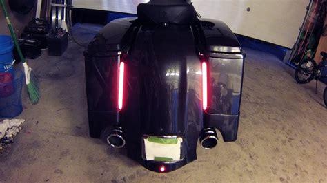 Plasma Rod Taillights  Street Glide Custom   YouTube