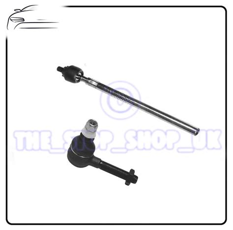 Tie Rod Or Rack End Nissan March right inner outer tie track rod end steering for renault clio 3 nissan micra ebay