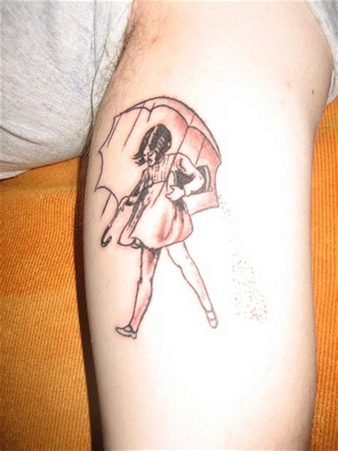 morton salt girl tattoo morton salt flickr photo