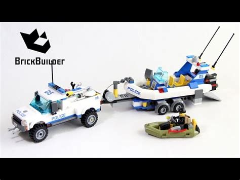 how to build a lego boat and trailer lego police boat and trailer www pixshark images