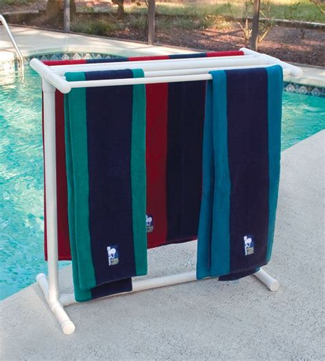 Outside Towel Rack by 25 Best Ideas About Towel Rack Pool On