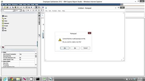 cognos report template exles cognos query to excel spreadsheet