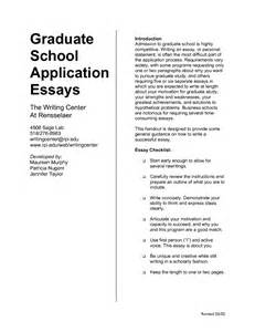 Graduate School Essays Exles by Writing Admission Essay Grad School Questions Order Custom Essay