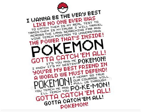 Theme Songs Of Pokemon | pokemon theme cross stitch pattern pdf instant download