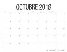 Calendario 2018 Para Imprimir Calendarios 2018 Para Imprimir Minimalista