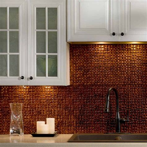 fasade kitchen backsplash fasade backsplash terrain in moonstone copper