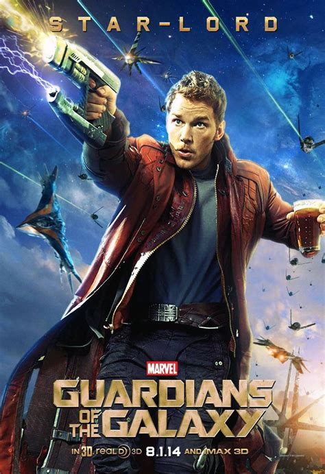 Guardian Of Galaxy Lord lord quill chris pratt guardians of the