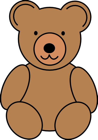 Teddy Outline Images by Teddy Outline Clipart Free Clipart Images Clipartix