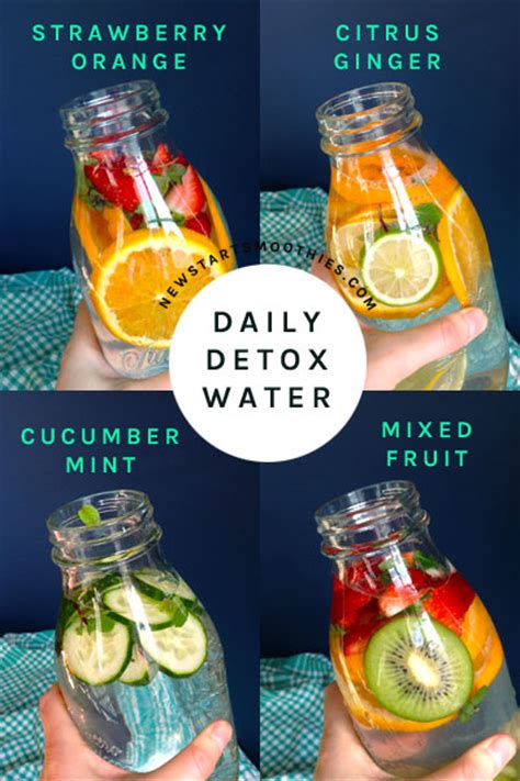 Detox Water With Just Fruit detox water feelings new start smoothies