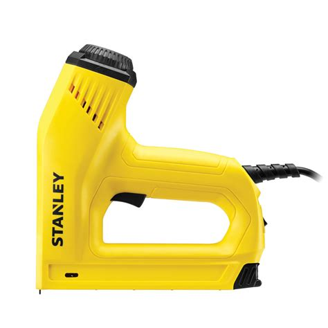 heavy duty electric staple gun stanley tools storage stapling riveting and