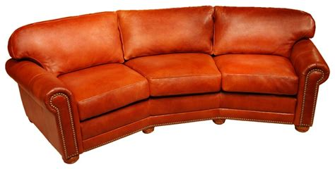 conversational sofas leather conversation sofas dominion leather conversation sofa