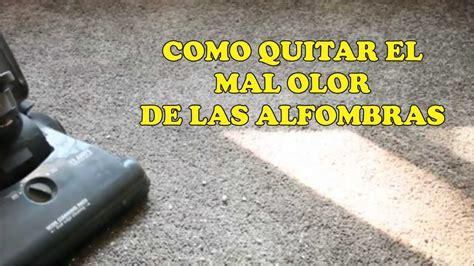 como quitar malos olores de las alfombras youtube