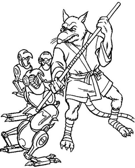 ninja turtles coloring pages splinter master coloring download master coloring