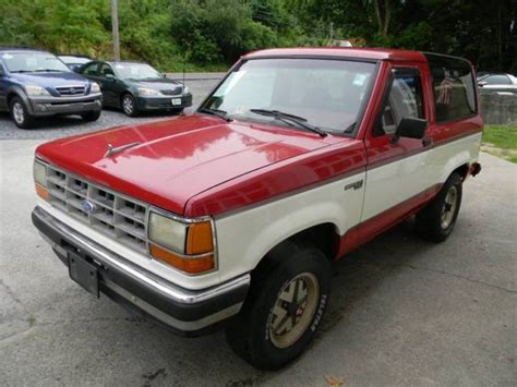auto air conditioning repair 1990 ford tempo transmission control 1990 ford bronco ii xlt 2dr 4wd suv automatic 4 speed 4wd v6 2 9l gasoline