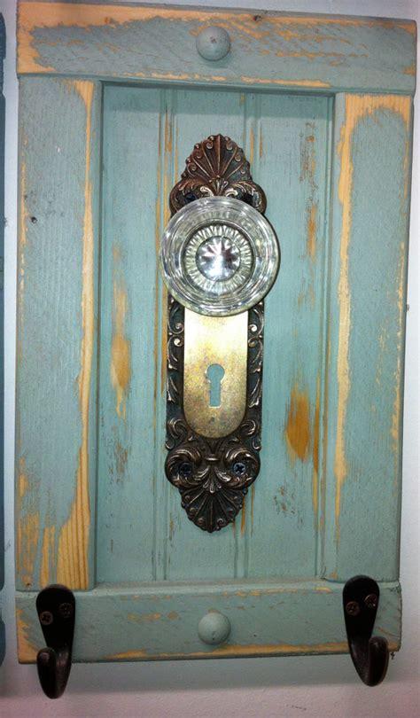 antique door knob coat rack towel or even by