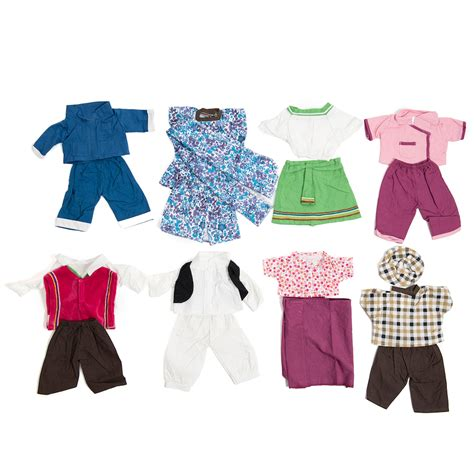 Play Doll Closet by Buy Play Multicultural Doll S Clothes Tts
