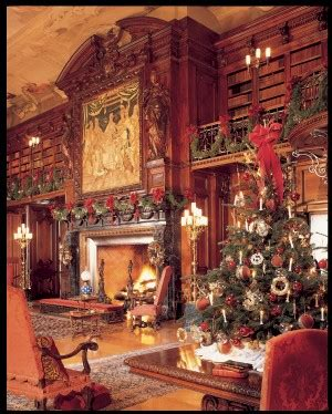 the biltmore library at christmas bookwise
