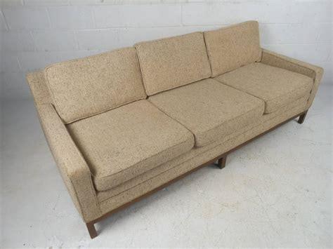 stylish vintage modern sofa after florence knoll for sale