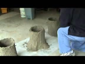 Faux Bois Garden Bench Making A Concrete Bench Part 1 Tree Stumps Mpg Youtube