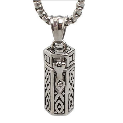 necklaces for humans necklaces stainless steel tubular open cremation urn jewelry pendant for keepsake