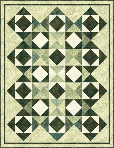 King Quilt Fabric by Mine Quilt Kit