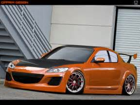 mazda rx8 annoying orange by cipprik on deviantart