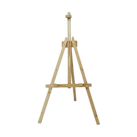 Tripod Lukis jual third frame kayu wooden easel lukis lipat