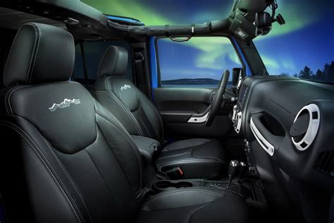 2013 Jeep Wrangler Interior Accessories by Limited Model Jeep Wrangler Polar Edition Released