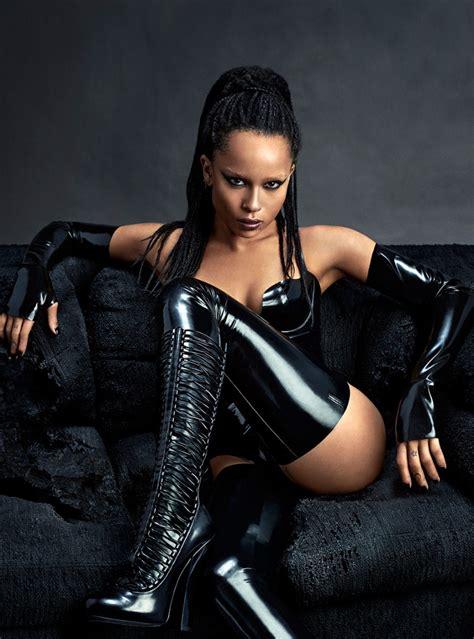 most stylish celebrities of 2015 complex dominatrix zoe krativz is fierce for complex magazine s