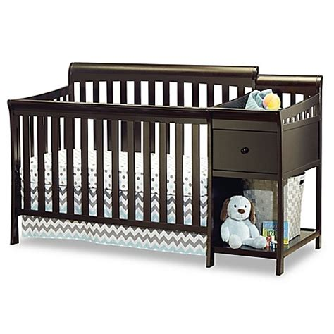 sorelle crib and changer sorelle florence 4 in 1 convertible crib and changer in