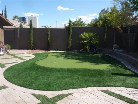 nevada backyard pictures for desert greenscapes water wise grass and
