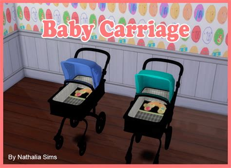 sims 4 cc baby funtioneri baby comfort and carriage at nathalia sims 187 sims 4 updates