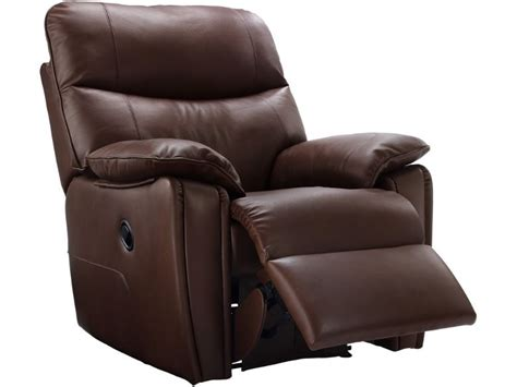 Power Leather Recliner Chair by G Plan Henley Leather Power Recliner Chair Longlands